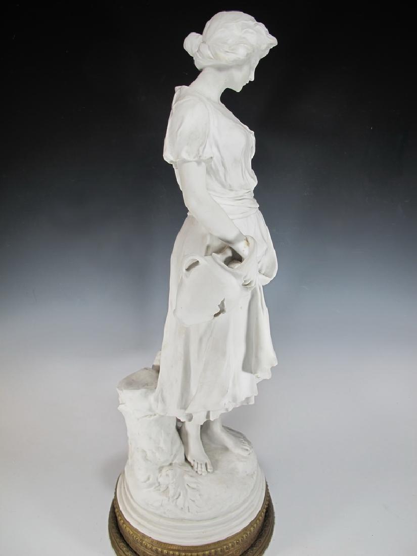 Luca MADRASSI (1848-1919) bisque statue - 5