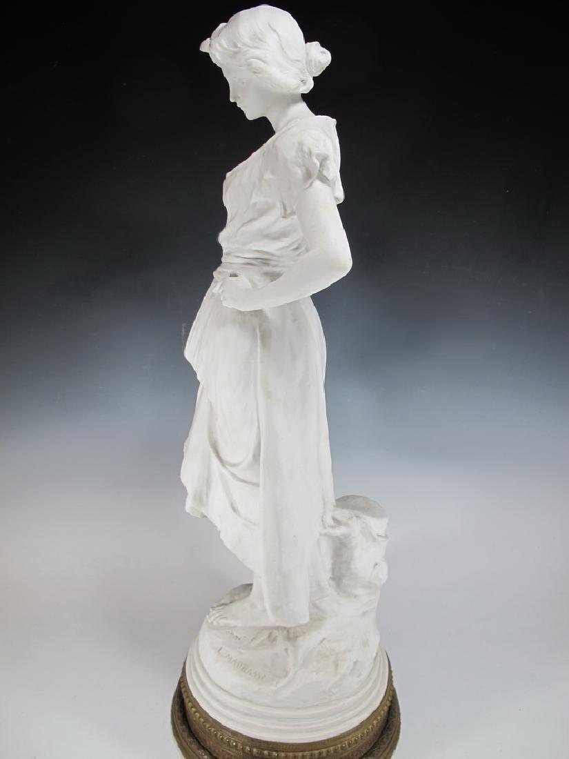 Luca MADRASSI (1848-1919) bisque statue - 8