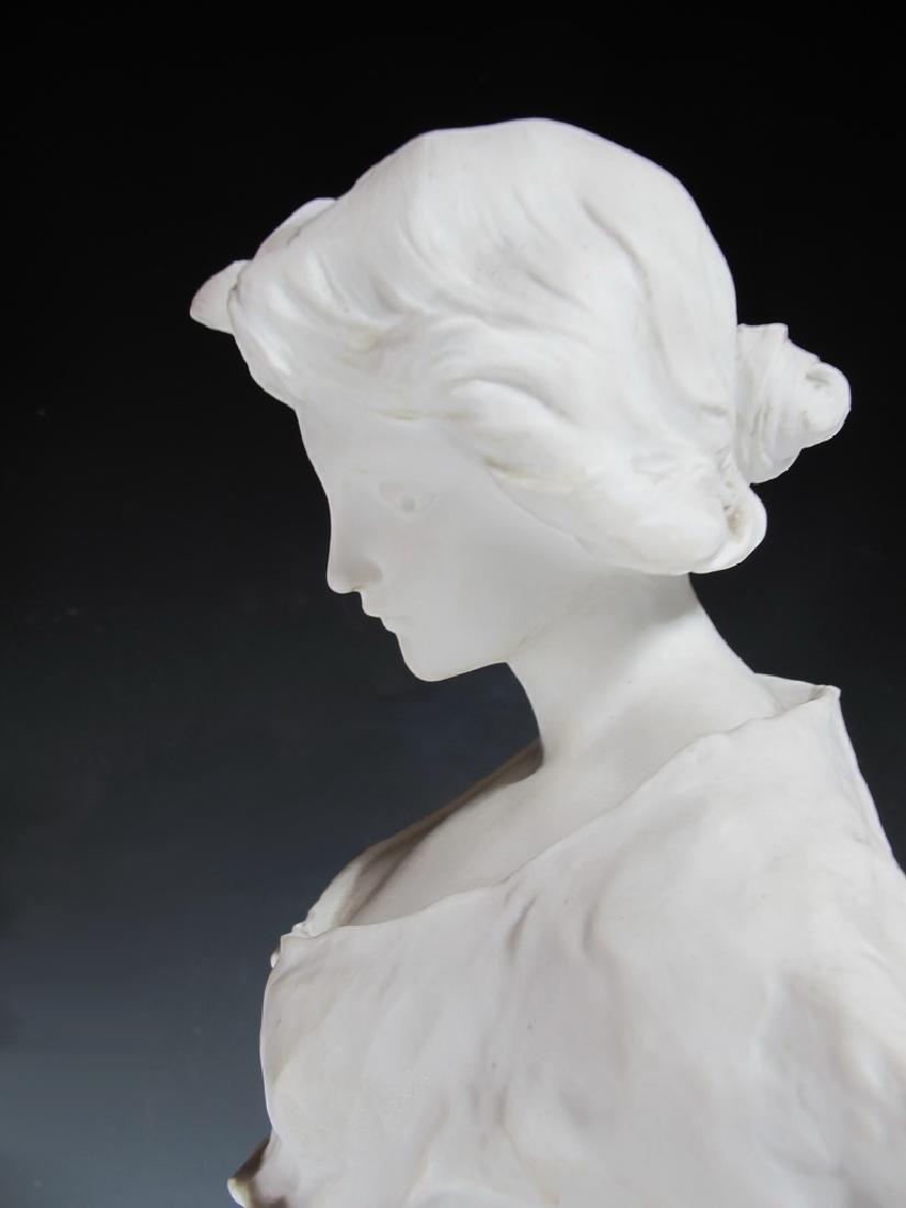 Luca MADRASSI (1848-1919) bisque statue - 9