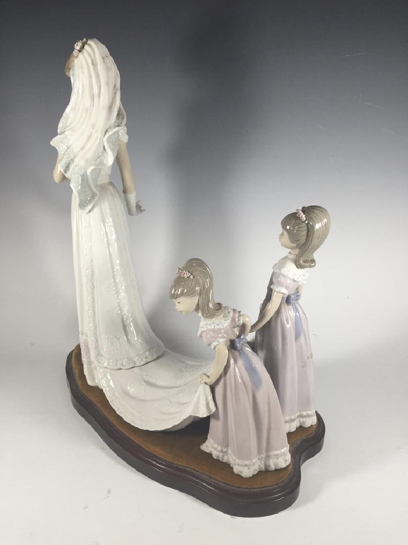 LLADRO Here Comes The Bride Porcelain Figure - 5