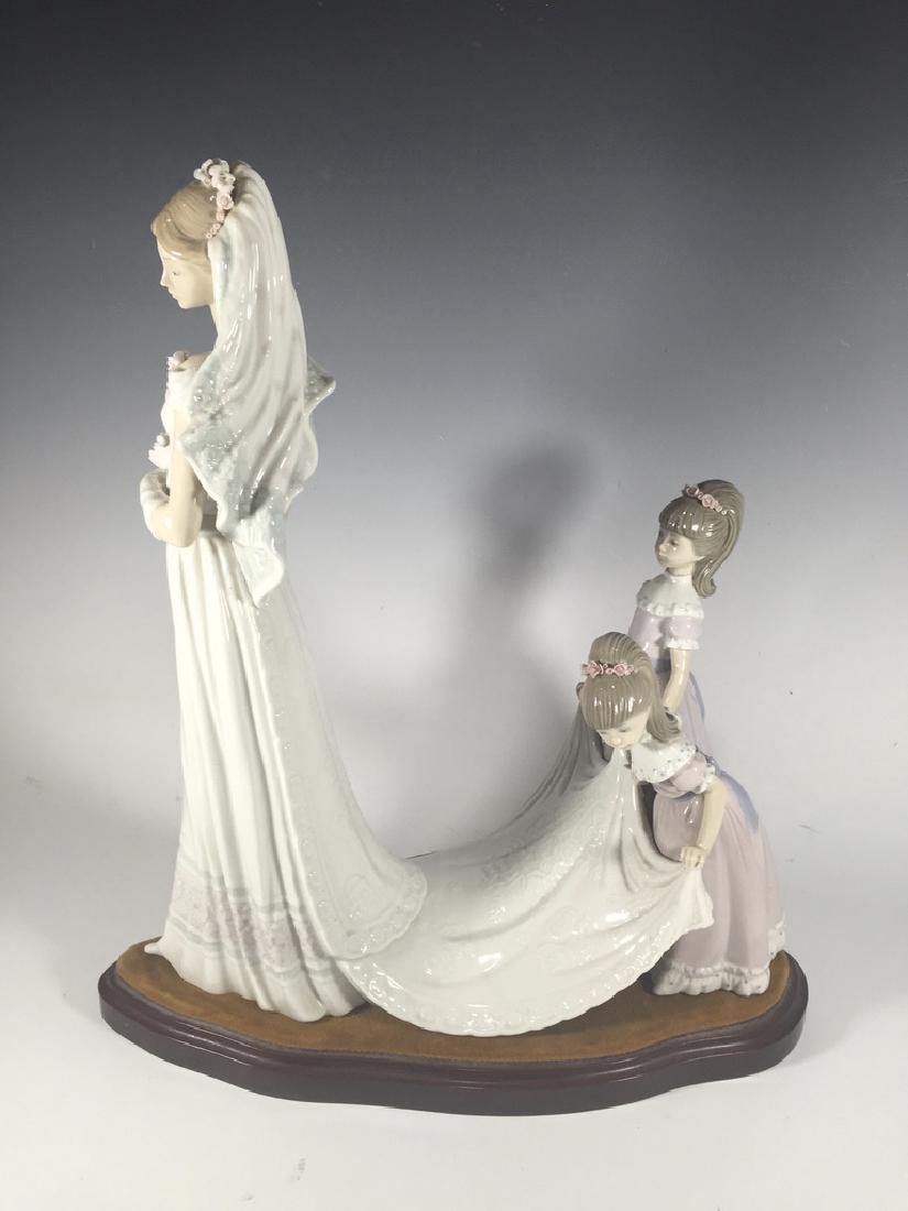LLADRO Here Comes The Bride Porcelain Figure - 6