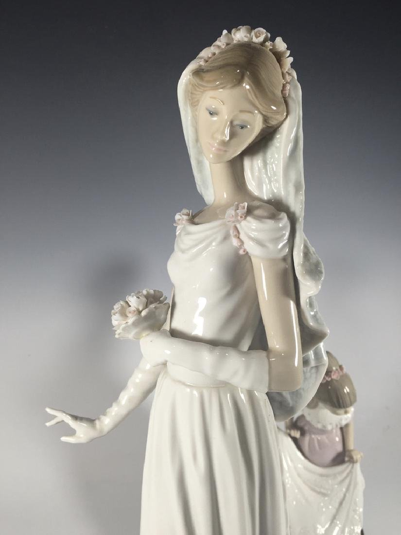 LLADRO Here Comes The Bride Porcelain Figure - 7