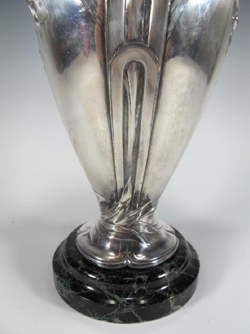 Antique French Cristofle Gallia silverplated vase - 4