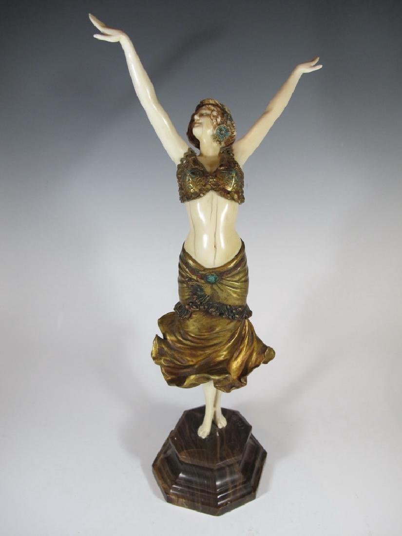 Paul Philippe (1870-1930) bronze statue