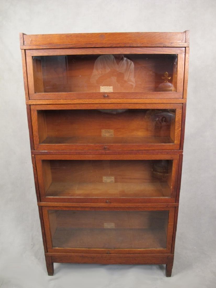 Antique Globe Wernicke Sectional Bookcase Pattern 709