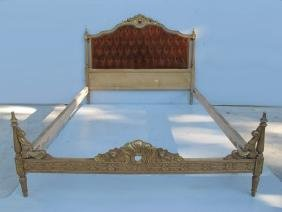 Great French Louis Xvi Patinated Full Bed