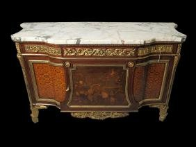Louis Xvi Style Bronze Commode After The Model By J.