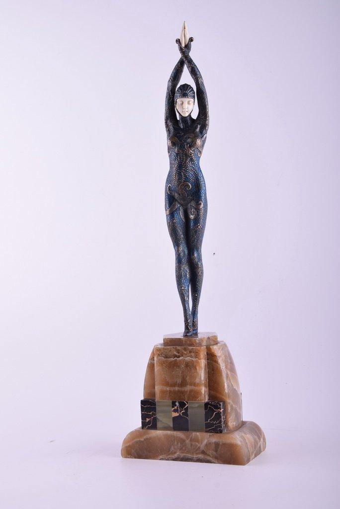 Demetre Chiparus (Rumanian, 1888-1950) Starfish dancer