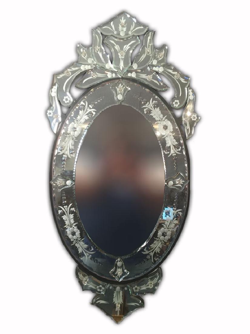 Amazing modern Vemetian wall mirror
