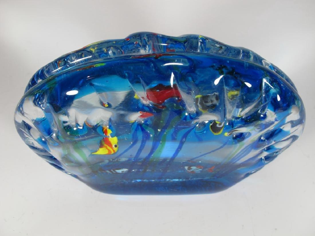 Sandro FRATTIN Art Glass fishes murano - 3