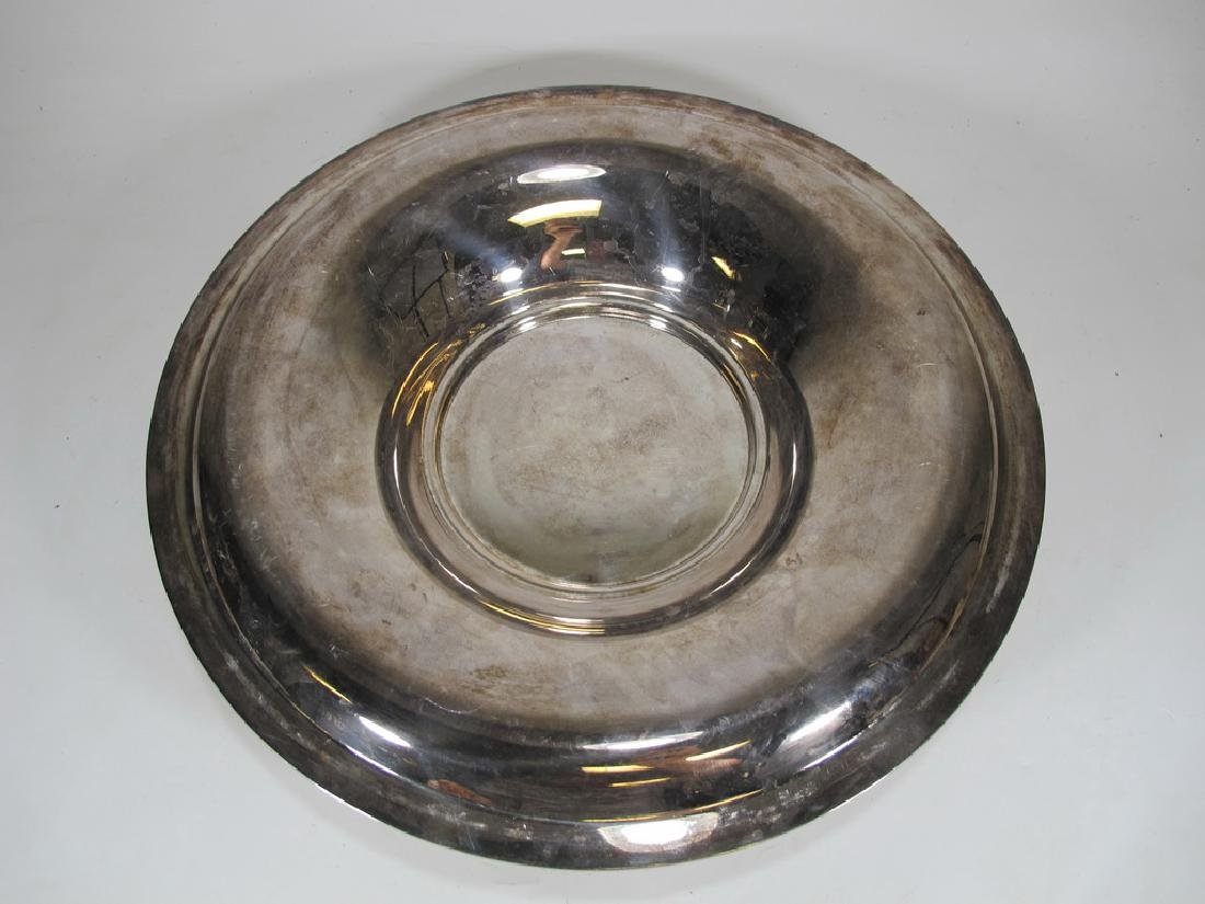 Pair of French Christofle silverplate service pieces - 4