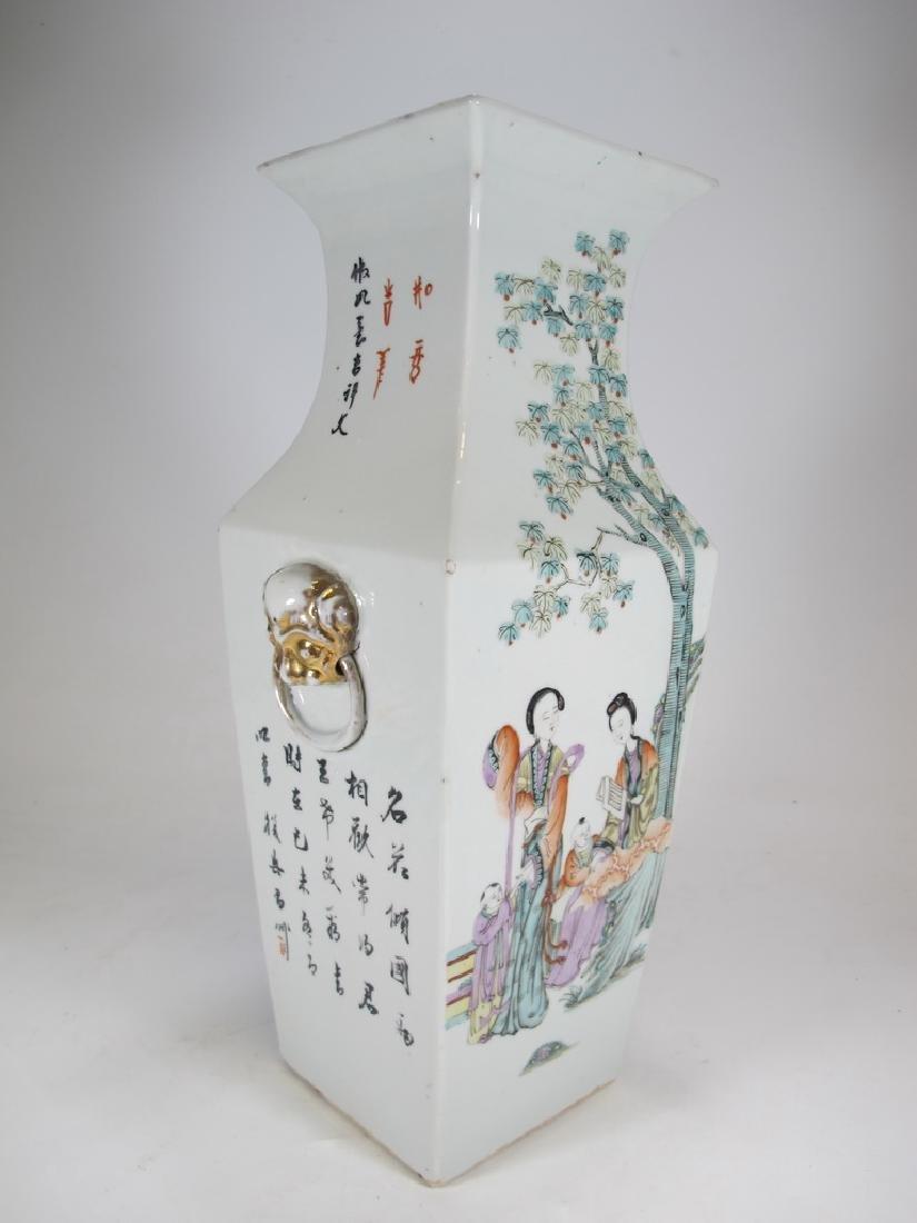 Vintage Chinese porcelain vase - 4