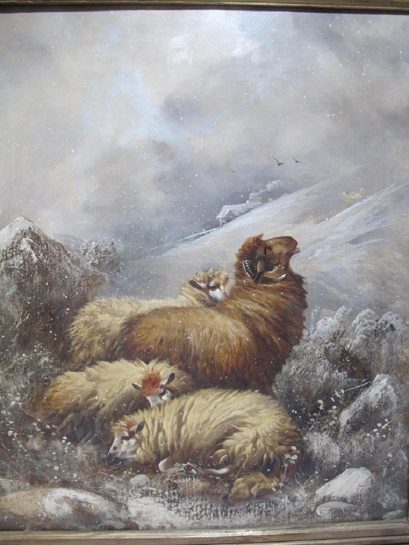Joseph VAN DIEGHEM (1843-1885) (Attrib) Belgian artist - 2