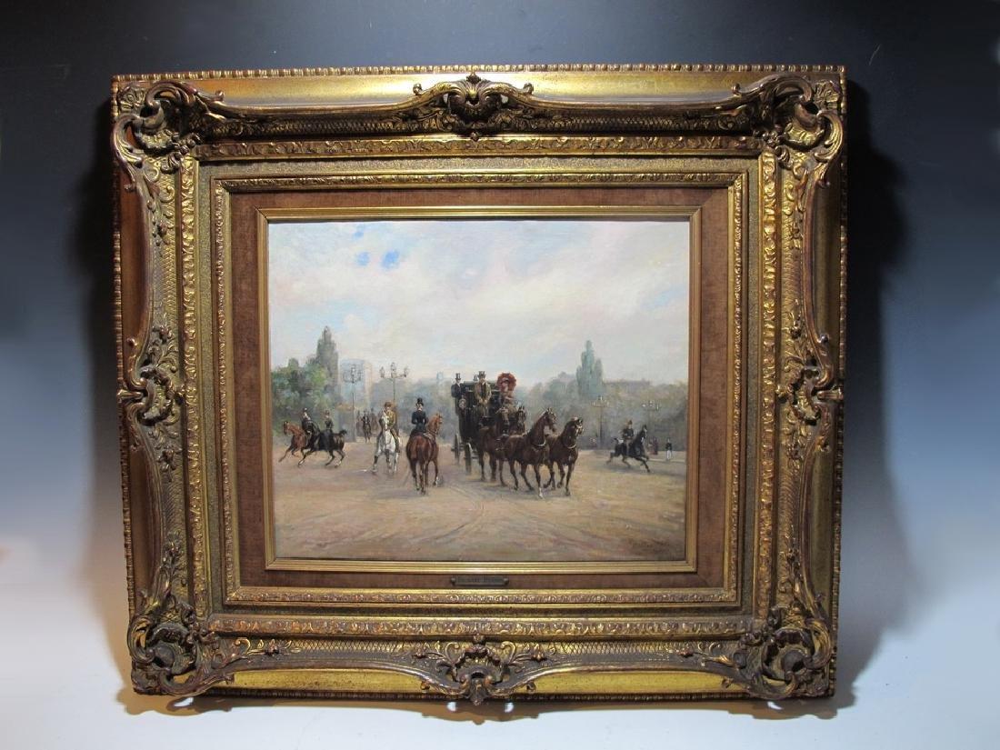 Richard BLOOS (1878-1956) German artist painting
