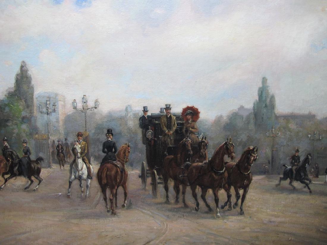 Richard BLOOS (1878-1956) German artist painting - 2