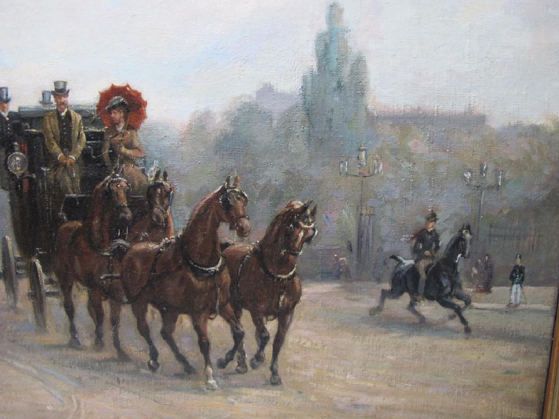 Richard BLOOS (1878-1956) German artist painting - 4