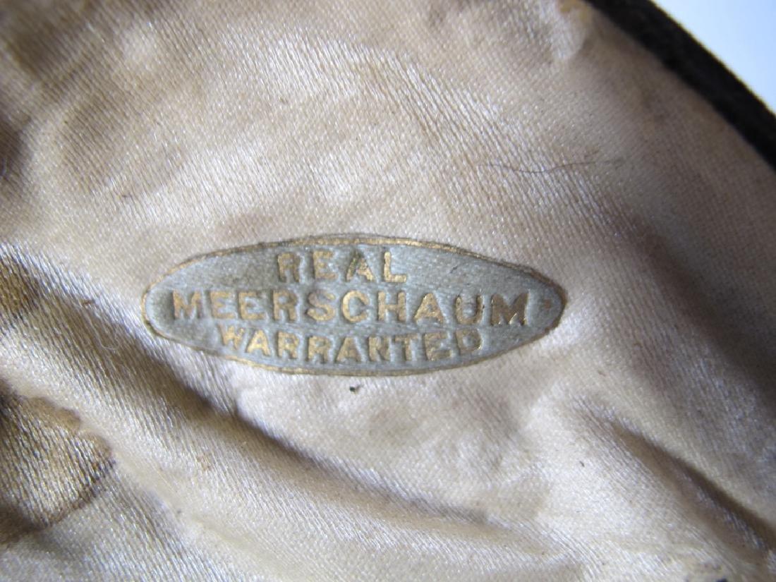 Antique English birds meerschaum cigarette holder - 8