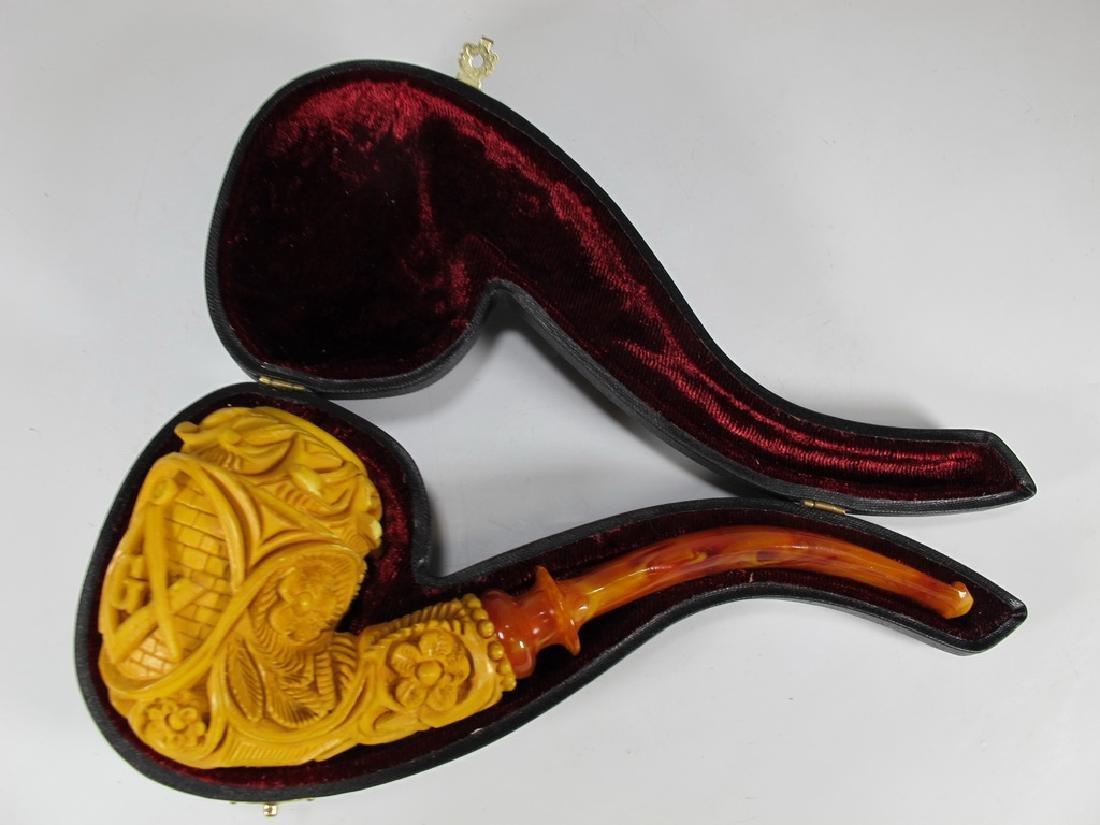 Never used Masonic Meerschaum pipe