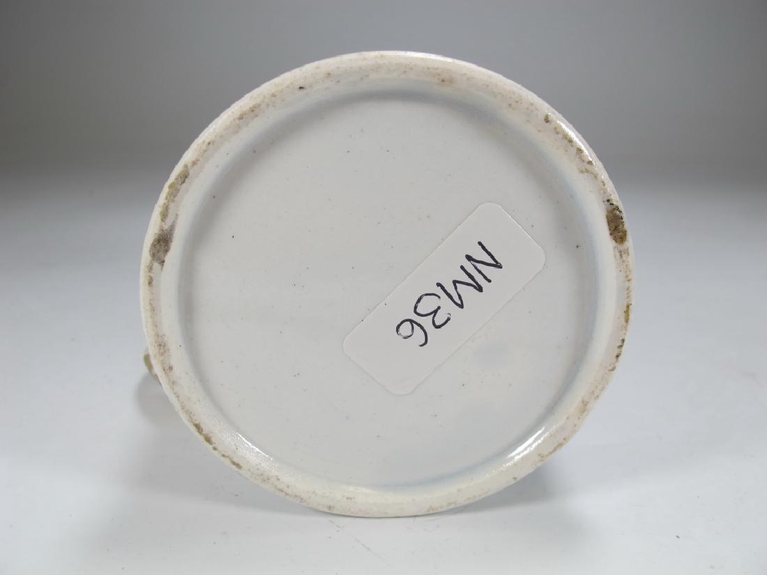 Antique creamware Masonic small mug - 5