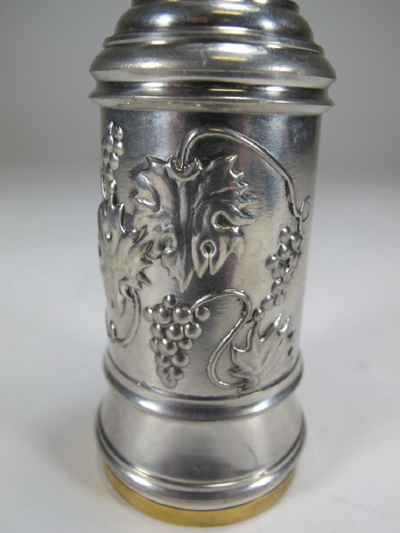 Vintage meta & enamel Masonic corkscrew - 2