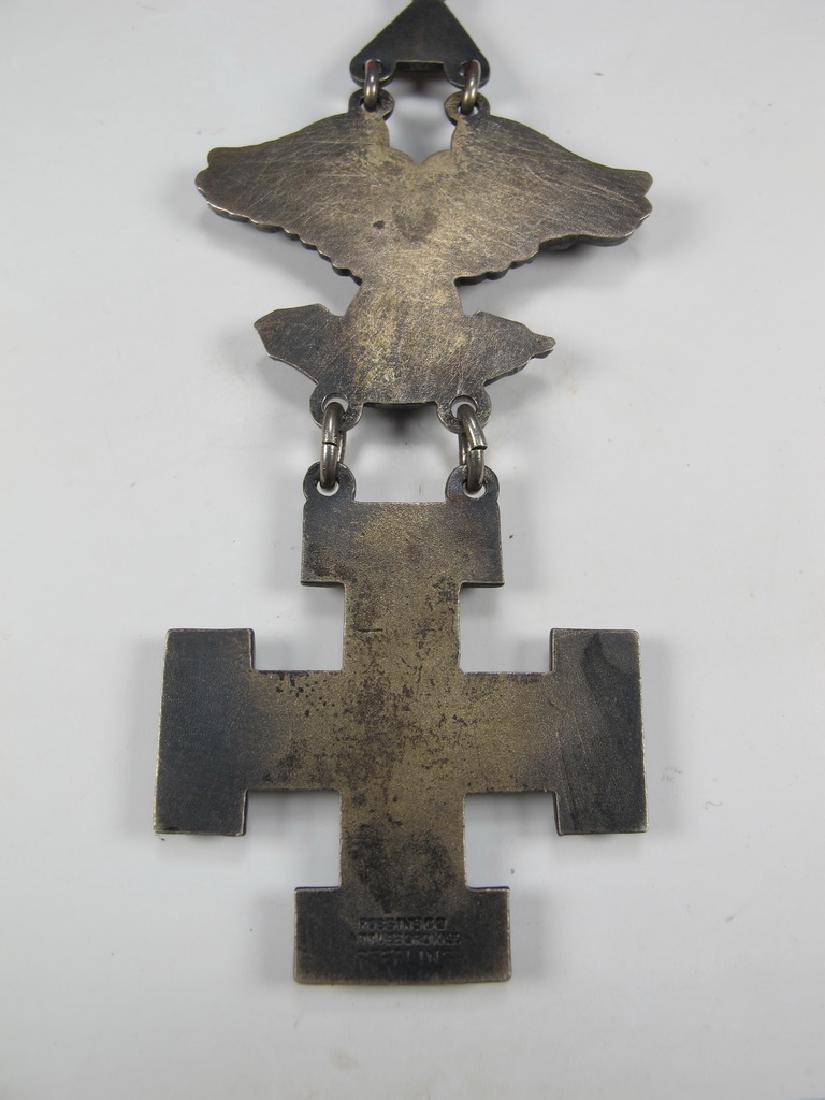Sterling Masonic breast jewel 32nd. Degree Scottish - 6