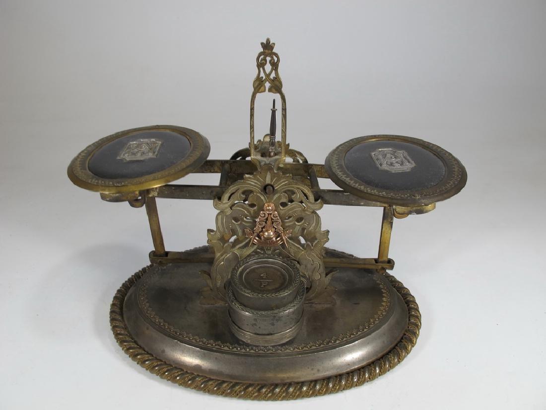 Antique English Masonic Melliship & Harris scale