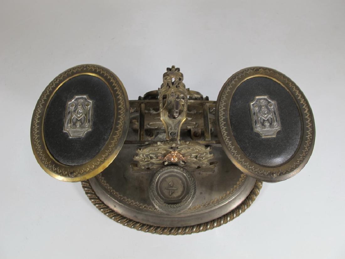 Antique English Masonic Melliship & Harris scale - 2