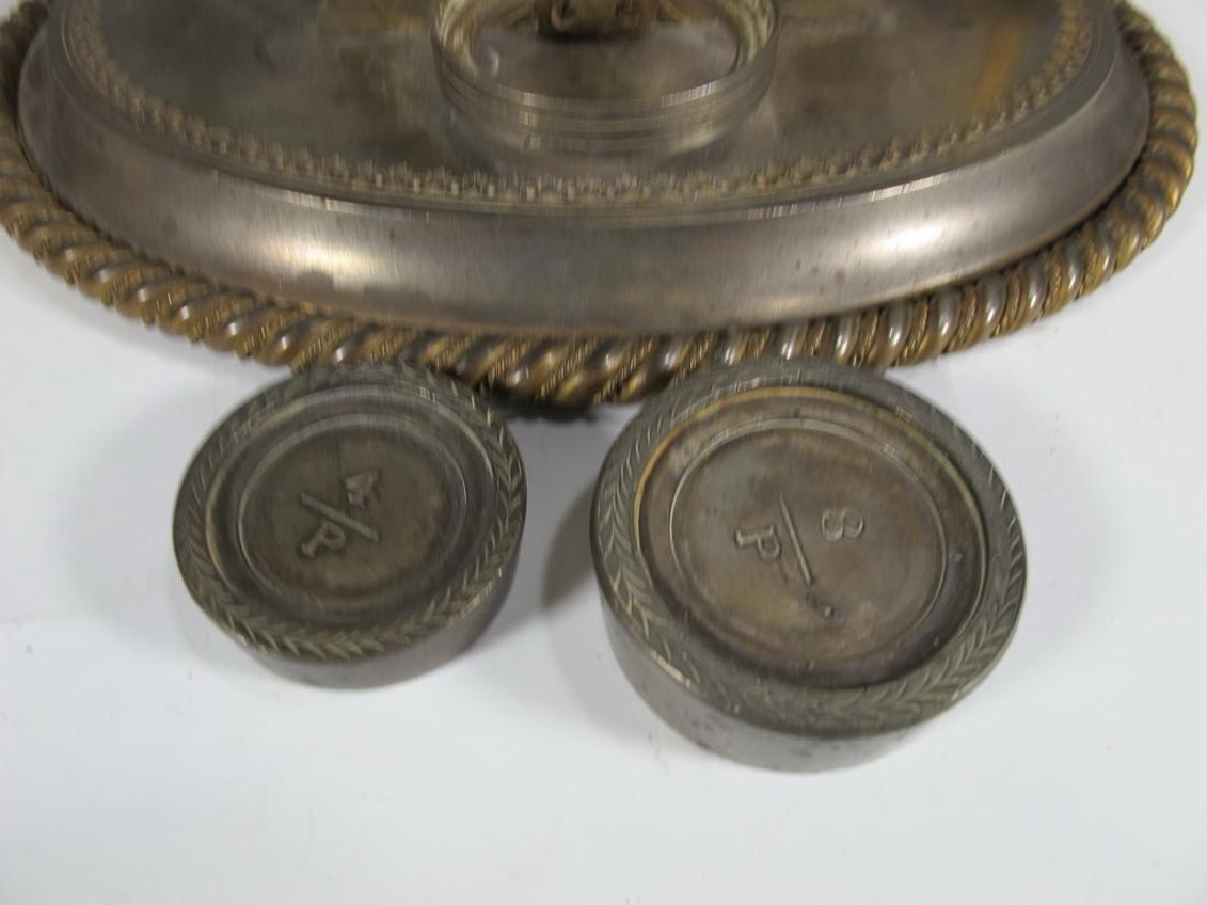 Antique English Masonic Melliship & Harris scale - 5
