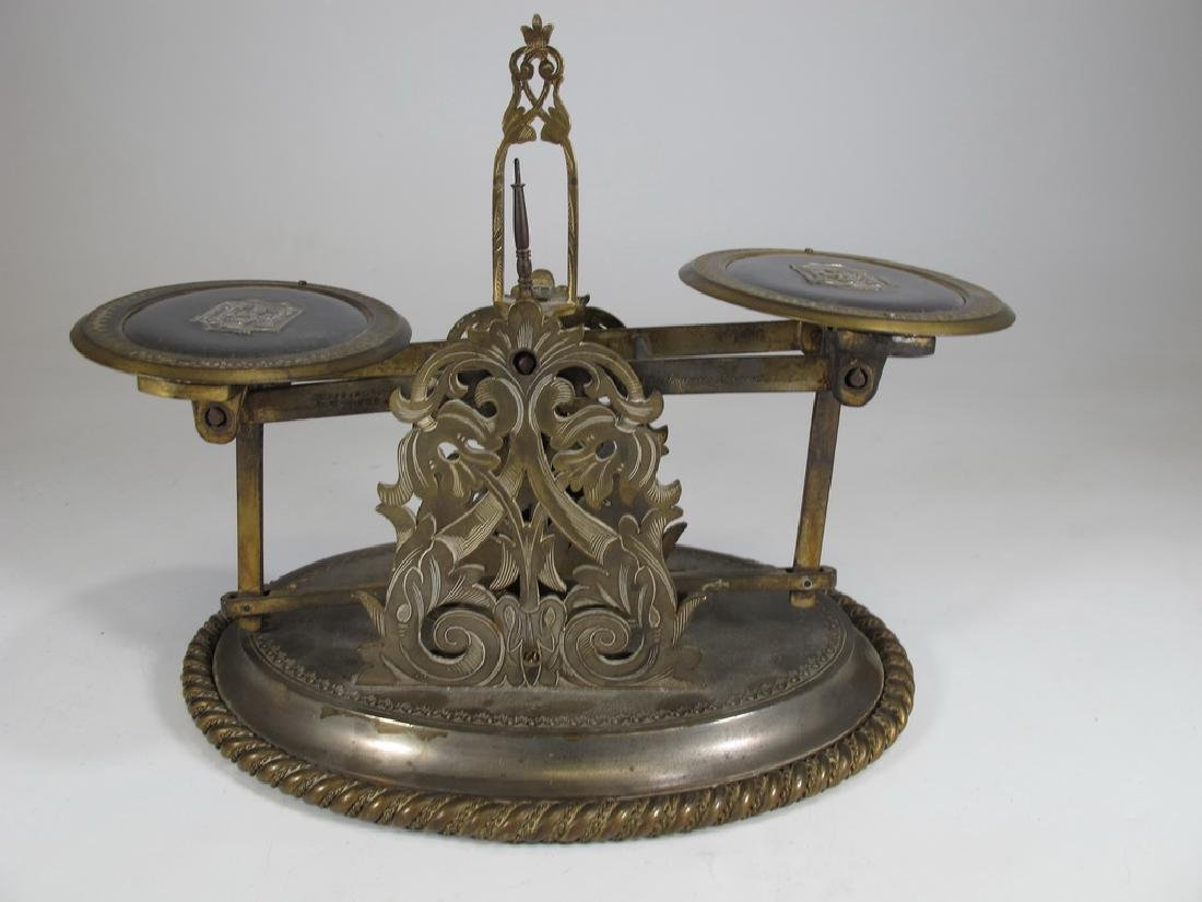 Antique English Masonic Melliship & Harris scale - 6