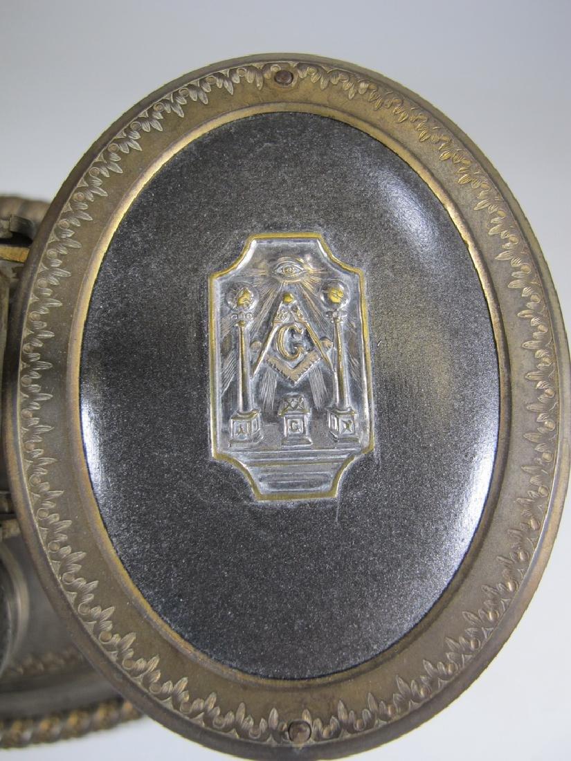 Antique English Masonic Melliship & Harris scale - 8