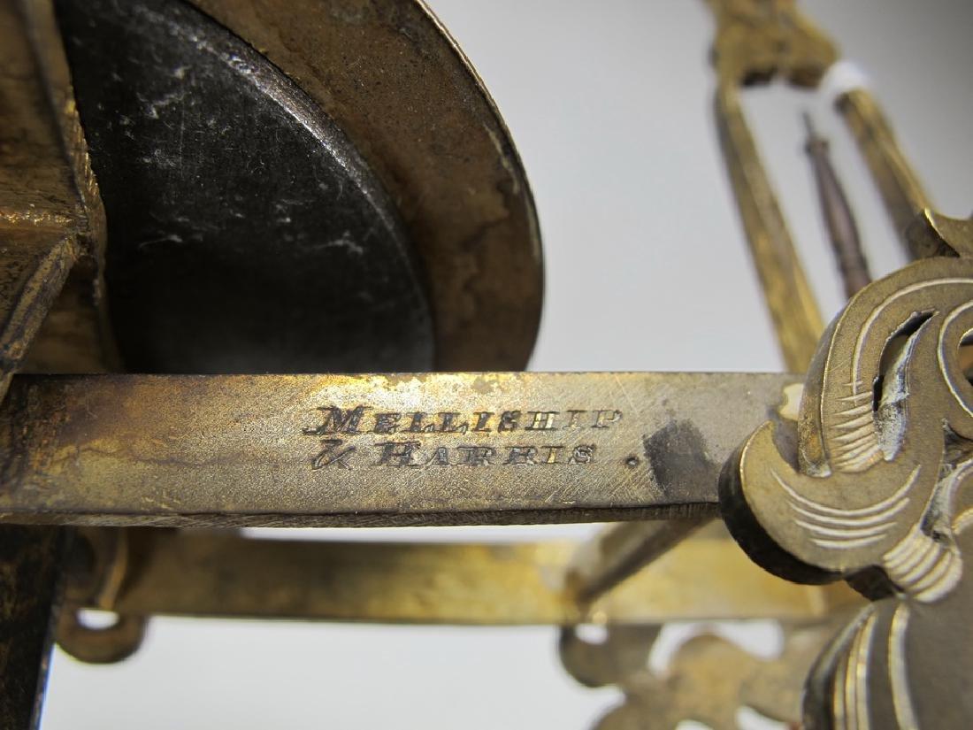 Antique English Masonic Melliship & Harris scale - 9