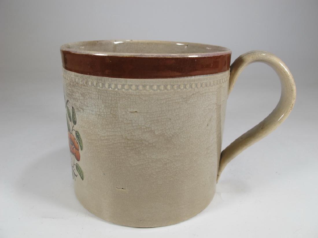 Vintage Sunderland luster Masonic Odd Fellows Honor mug