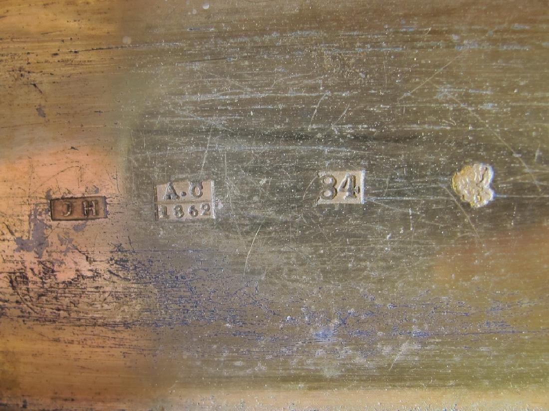 Antique Russian Masonic silver snuff box - 6