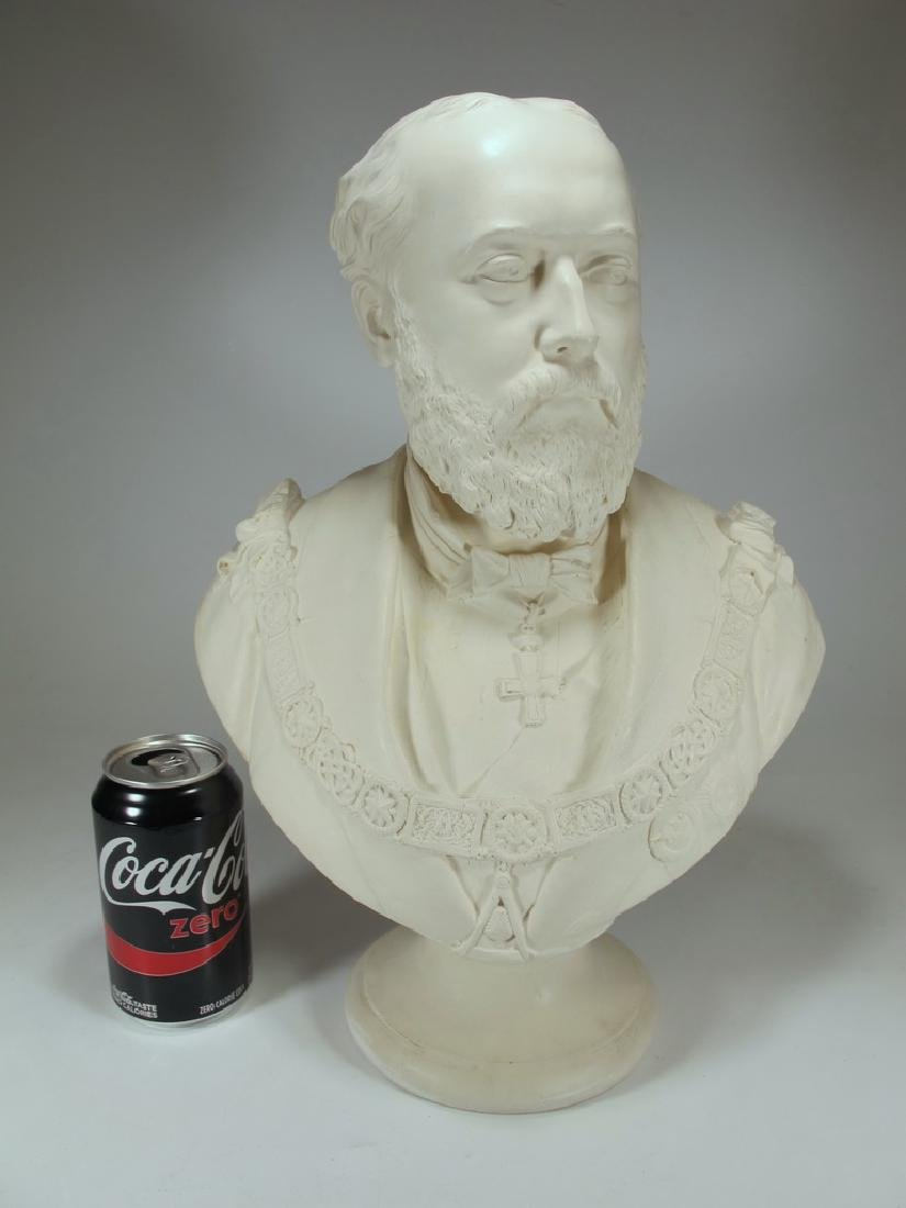 Bust of Edward VII by Copeland