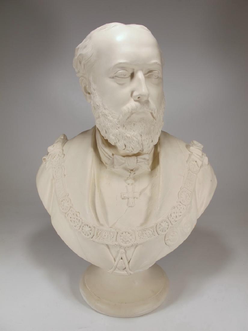 Bust of Edward VII by Copeland - 2