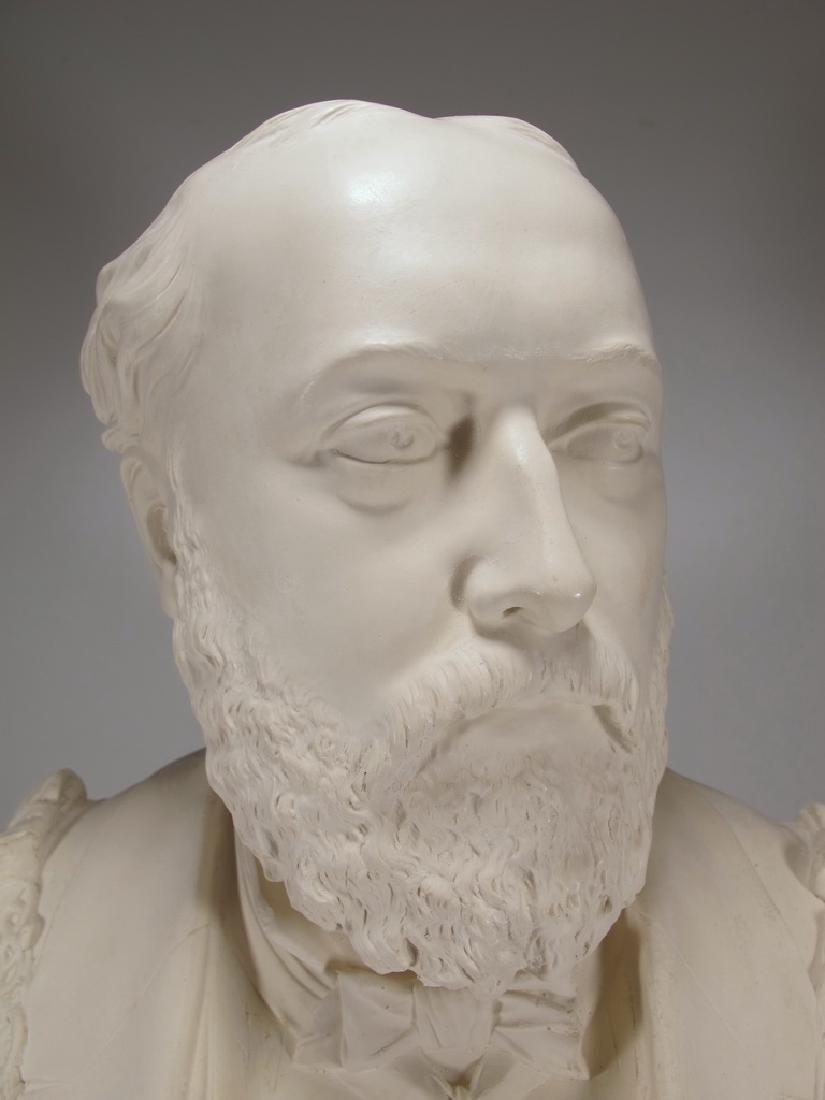 Bust of Edward VII by Copeland - 3