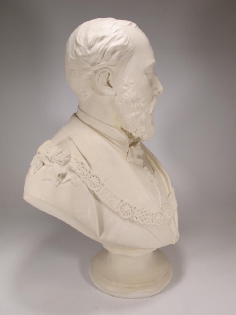 Bust of Edward VII by Copeland - 5