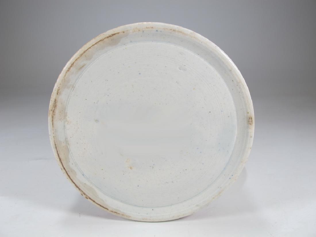 Antique English Masonic cream ware mug - 6