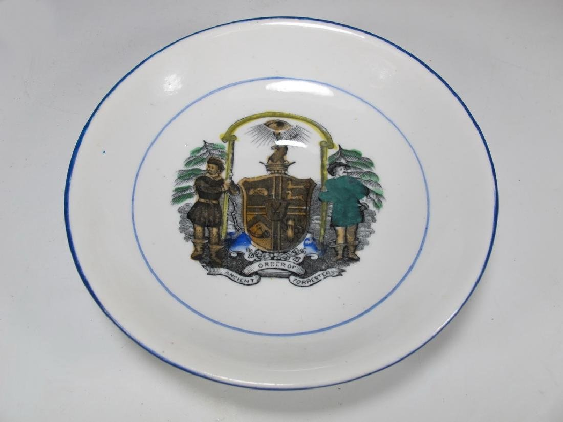 Vintage Masonic Ancient set of cup and saucer - 2