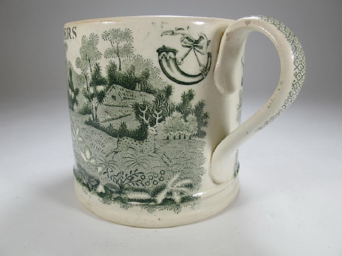 Antique English Masonic Royal Foresters mug - 6