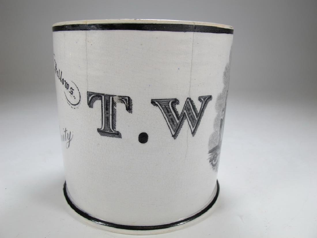 Old English Masonic mug - 2