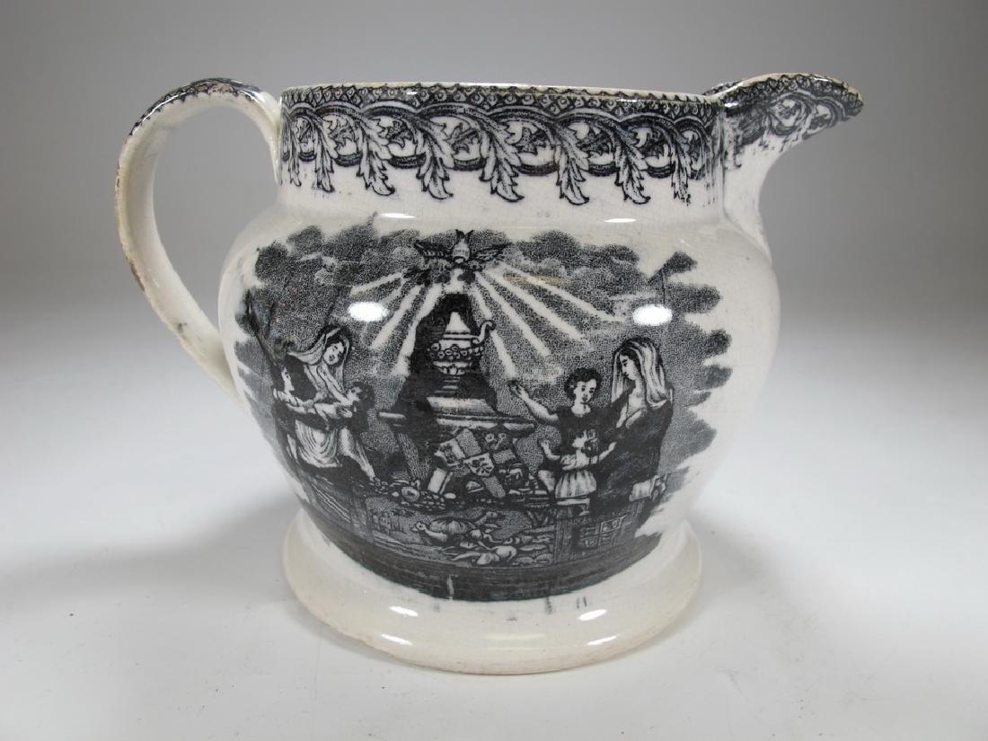 Antique English Masonic jug