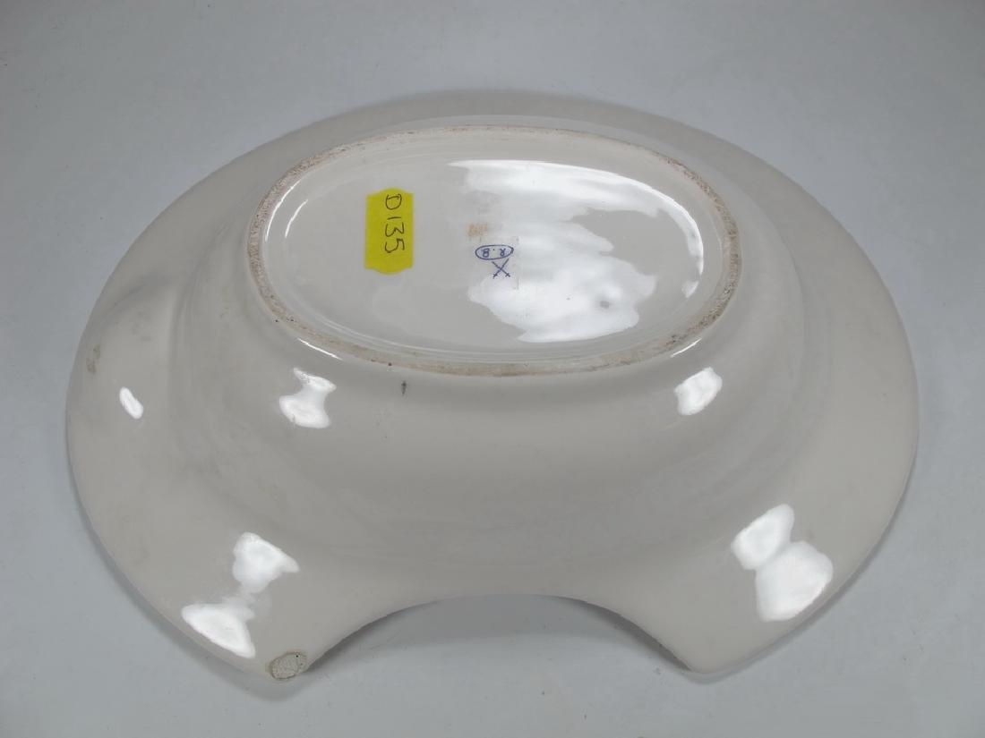 Antique Masonic Pottery Barbers bowl - 7