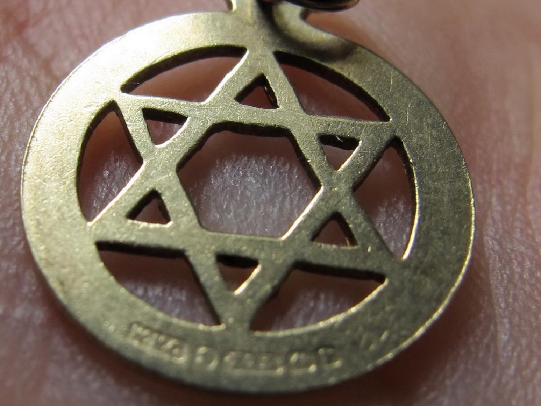 Lot of 4 9K Gold Masonic jewel - 7