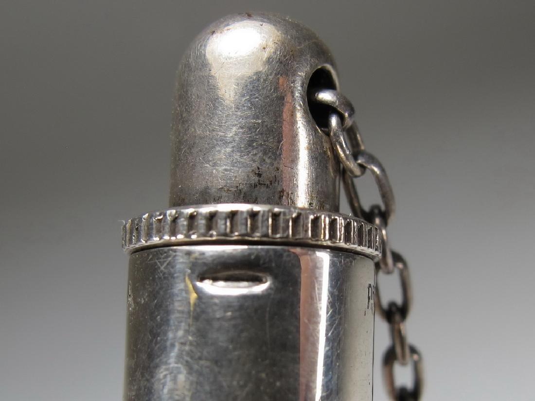 Lot of three Masonic silver items - 3