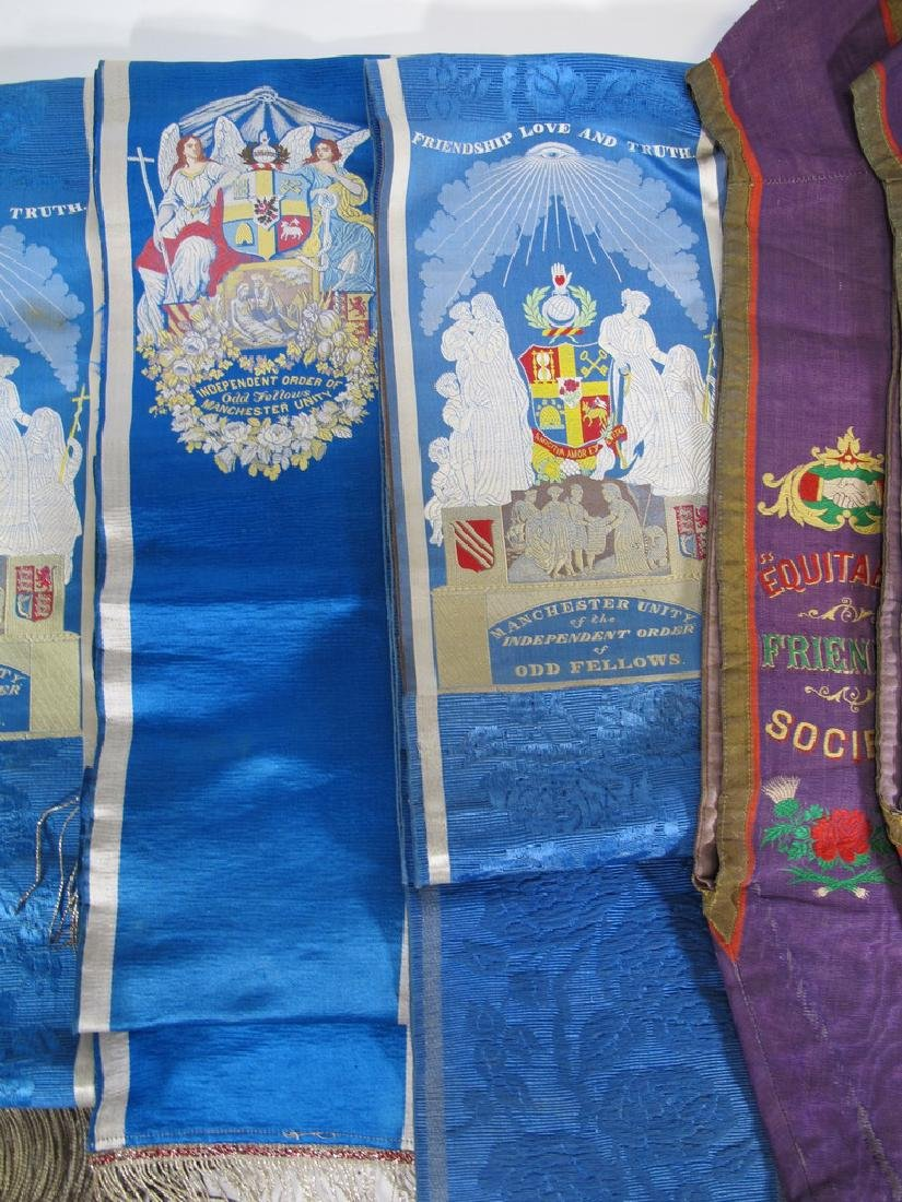 Lot of 6 assorted Masonic Orders sashes - 3