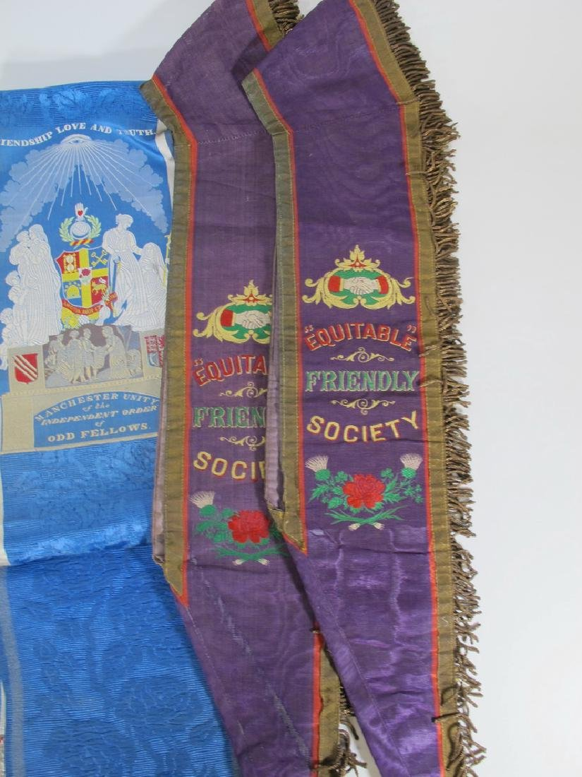 Lot of 6 assorted Masonic Orders sashes - 4