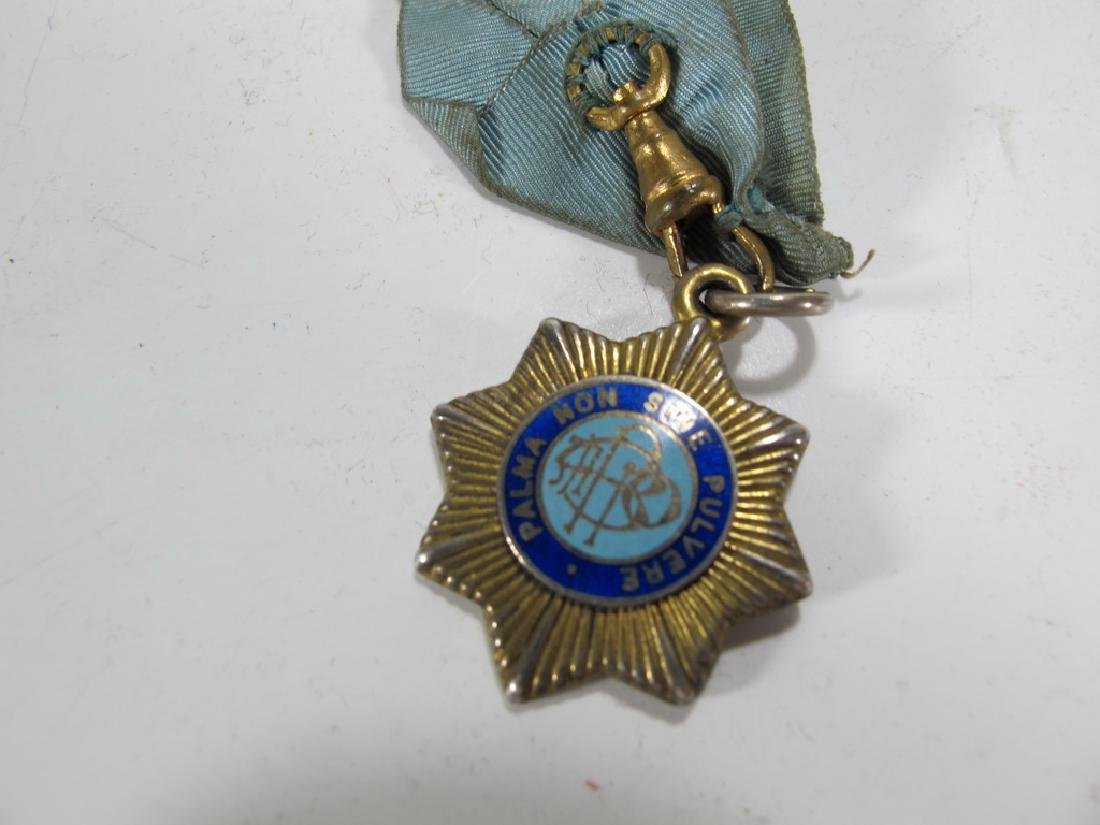 Vintage collar with General Buller Masonic  medal - 3