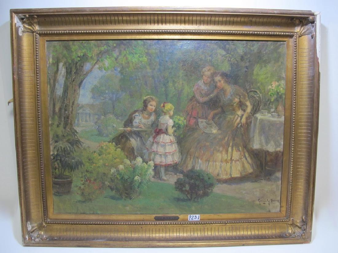 Imre GERGELY (1868-1914) Hungarian artist