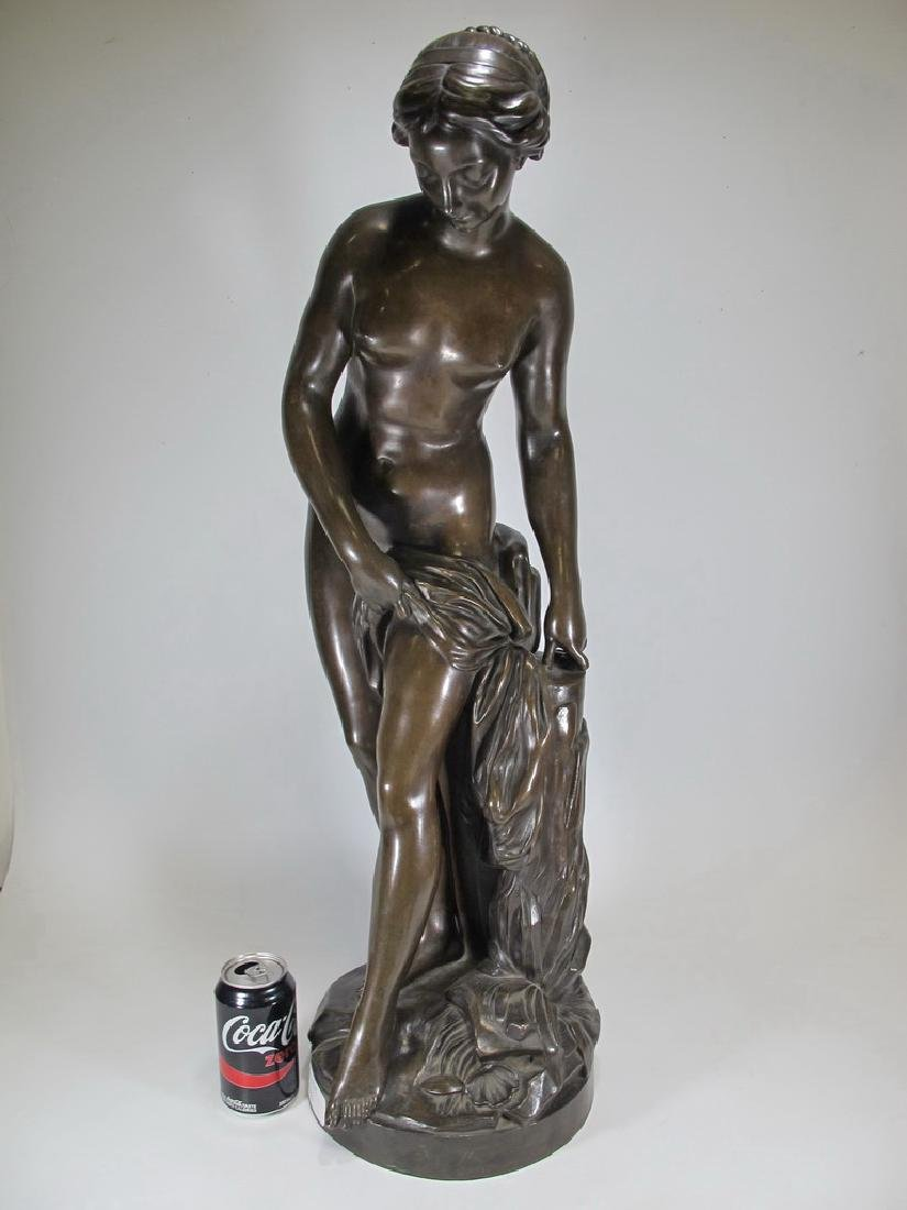 Ferdinand BARBEDIENNE (1810-1892) nude statue